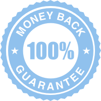 Money Back 100% Guarantee